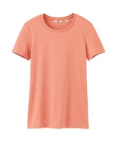 WOMEN PREMIUM COTTON CREW NECK SHORT SLEEVE T-SHIRT, $9.90. (Suggested item to recreate this working mom outfit idea:  http://www.franticbutfabulous.com/2013/05/29/core-wardrobe-outfit-idea-how-to-wear-dark-wash-denim/?utm_medium=social_media_campaign=FBFsocial)