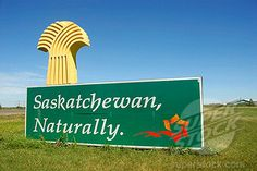 our border signage Saskatchewan, Canada. O Canada, Canada Travel, Largest Countries, Cool Countries, Riding Mountain National Park, Land Of The Living, Saskatchewan Canada, Western Canada, Country Signs