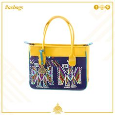 Teli Hand Bag line by Augusto Castillo.
