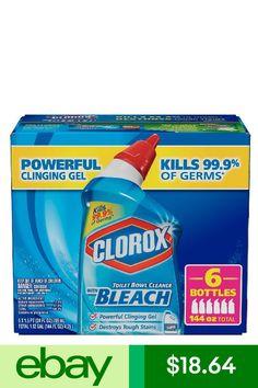 Clorox Toilet Bowl Cleaners Home & Garden Bleach Bottle, Toilet Bowl, Active Ingredient, Cleaning Products, Stains, Garden, Ebay, Garten, Lawn And Garden