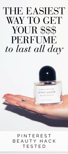 Does this actually make your perfume last all day? @thecoveteur