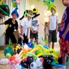 Birthday Party Games For 5-7 Year Olds - Birthday Game Ideas For 7 Year Old | Bash Corner