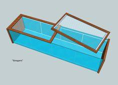 Gitter-Abdeckungen (Hamster, Kleintiere) für Ikea Vitrine Detolf