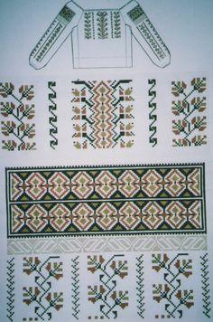 Embroidery Patterns, Cross Stitch Patterns, Palestinian Embroidery, Needlework, Artisan, Moldova, Fabric, Floral, Embroidery Stitches
