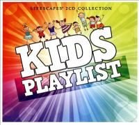Kids Playlist.  Disc 1- #4 Row Row Row Your Boat, #10 Head and Shoulders.  Disc 2- #10 I Get Around, #12 Twist and Shout.