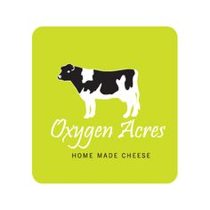 Logo design Client: Oxygen Acres Product: Home made cheese Software: Adobe Illustrator