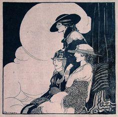 """Rafael de Penagos, """"El Secreto,"""" 1916"""