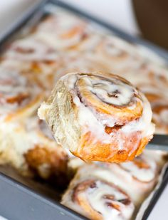An easy, no-fail recipe for moist and fluffy cinnamon rolls, topped with a cream cheese icing! It's the only recipe for cinnamon rolls you will ever need! This recipe has hundreds of reviews and very satisfied bakers and will not disappoint! Just read the comments in my YouTube video for all the raving reviews. Adjust the […]