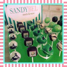 Cakepops für den Motorradclub by #sandybel #motorrad #biker #hamsterracing #fürth #nürnberg