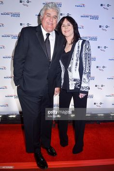 Jay Leno and Mavis Leno walks the red carpet during the 2014 Kennedy Center's Mark Twain Prize For Americacn Humor at The John F. Kennedy Center for the Performing Arts on October 19, 2014 in Washington, DC.