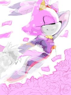 Blaze the Cat Sonic The Hedgehog, Silver The Hedgehog, Shadow The Hedgehog, Blaze The Cat, Rouge The Bat, Sonic Franchise, Sonic Heroes, Sonic And Amy, Sonic Fan Art