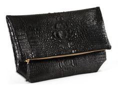 Heather Belle Audrey Fold-Over Clutch