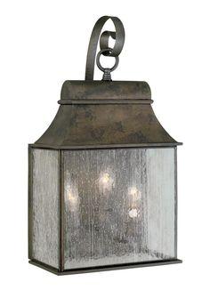Three Light Wall Lantern