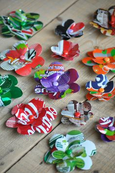 Recycling Ideas For Soda Cans - 4 UR Break- provides some information about interesting trends. Aluminum Can Crafts, Aluminum Cans, Metal Crafts, Kids Crafts, Soda Can Crafts, Tin Can Art, Soda Can Art, Tin Art, Diy Projects To Try