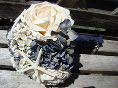 Navy Nautical Yacht Ship Boat Bridal Wedding By Modagefloral 5000