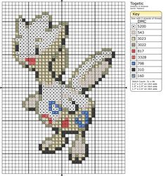 176 - Togetic - Shiny by Makibird-Stitching on DeviantArt