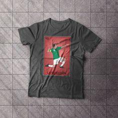 La Seleccion Futbol Loteria Card T-Shirt National Soccer