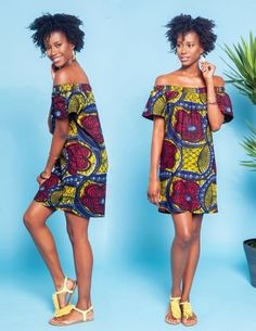 Pictures Of Latest Chic And Trendy Ankara Styles Of 2018 African Dresses For Women, African Print Dresses, African Attire, African Wear, African Women, African Prints, African Style, African Inspired Fashion, African Print Fashion
