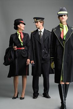 Air Portugal outfits... I want the gloves!