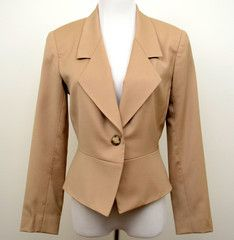 Z by Zelda Tan Blazer Size 2