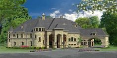 Wynnchester House Plan: 2 story, 7924 square foot, 4 bedroom, 5 full bathrooms