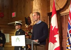The Duke speaks at the launch of Canada's contribution to the @QueensCanopy #RoyalVisitCanada Day 3 09/26/2016