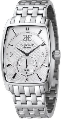 Solar Time Ltd Thomas Earnshaw ES-8009-22 Robinson (Subdial Second) Men's Watch Silver