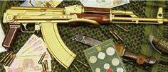 Drug Lord Gold AK47
