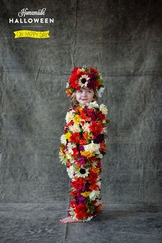 Field of Flowers Costume. So Easy!