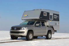 Die Nordstar Camp Flex war eine tolle Wohnkabine auf dem VW Amarok. Heute ist die Camp Compact die ideale Nachfolgerin. Weitere Infos auf www.nordstar.de