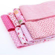 Tiras de algodón Quilting Patchwork Tejidos de Cinta de Tela 8 unids/lote Rosa Establece Rollo Textil Para Coser Juguetes Tilda Artesanía 6 cm x 100 cm(China (Mainland))