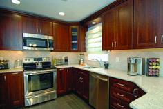 Fashionable white granite countertops and backsplash that will impress you