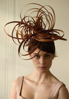 Hats for Women: I was trying a.DIY wicker mobile from Pintrest but… Hats for Women: I was trying a.DIY wicker mobile from Pintrest but… Fascinator Hats, Fascinators, Headpieces, Mode Bizarre, Mode Costume, Ascot Hats, Crazy Hats, Kentucky Derby Hats, Fancy Hats