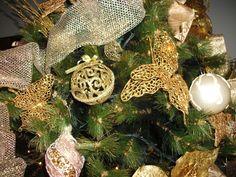 Árvore Gold (ouro e pérola)-4