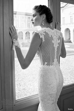 Sexy Berta Wedding Dresses 2014 Bridal Collection. To see more: http://www.modwedding.com/2014/01/21/sexy-berta-wedding-dresses-2014-collection/ #wedding #weddings #fashion