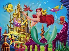 Ariel The Little Mermaid Wallpaper
