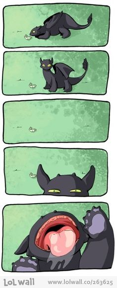 how to train your dragon from www.lolwall.co <3 :) Toothless reminds me our our geranimal LUNA!