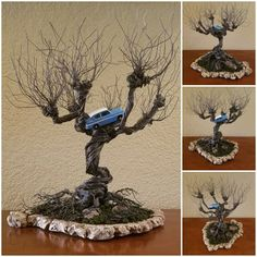DIY Harry Potter Whomping Willow Wire Tree with Flying . - DIY Harry Potter Whomping Willow Wire Tree with Flying … - Harry Potter Schmuck, Bijoux Harry Potter, Objet Harry Potter, Décoration Harry Potter, Estilo Harry Potter, Harry Potter Thema, Classe Harry Potter, Harry Potter Bedroom, Harry Potter Wedding