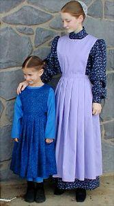 Plainly/Modestly Dressed Mennonites.