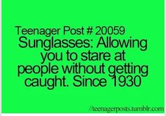 Lol I should start wearing sunglasses so I can look at food without people noticing I've done this before lol Funny Relatable Memes, Funny Facts, Funny Quotes, Life Quotes, Relatable Posts, Teenager Quotes, Teen Quotes, Teenager Posts, Stupid Funny