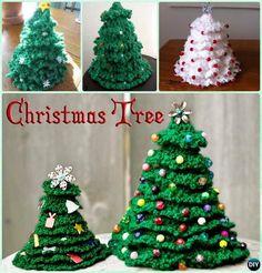 3D Crochet Christmas Tree Free Pattern
