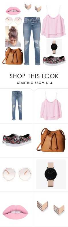 """""""Obsession"""" by kgirl114 ❤ liked on Polyvore featuring rag & bone, MANGO, Vans, ECCO, Chloé, CLUSE and FOSSIL"""