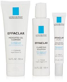 La RochePosay Effaclar Dermatological Acne Treatment System 75 Fl Oz ** For more information, visit image link.
