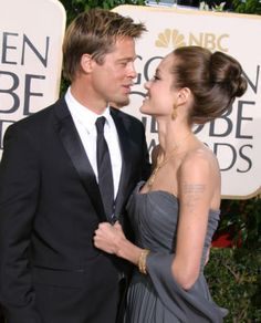 The top 40 cutest moments between Brad Pitt and Angelina Jolie: