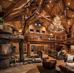 Why You Should Consider Buying a Log Cabin - Rustic Design Rustic Home Design, Dream Home Design, My Dream Home, Rustic Modern Cabin, Wood House Design, Log Home Interiors, Log Cabin Homes, Log Cabin Bedrooms, Lodge Bedroom