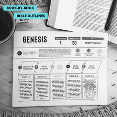Study outlines for each book in Bible.  Printables for home, Sunday school, church, etc. Bible Study Notebook, Bible Study Guide, Bible Notes, Bible 2, Sunday School Crafts For Kids, Book Outline, Bible Activities, Bible For Kids, Bible Crafts