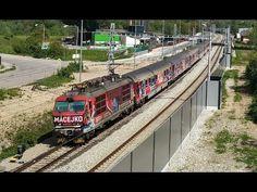 MACEJKO 350 017-0 na IC 522! - YouTube Bratislava, Train, Vehicles, Youtube, Zug, Cars, Strollers, Trains, Vehicle