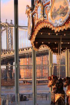 NYC. Brooklyn. Jane's Carousel.