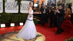 Jennifer Lawrence  2014 Golden Globes