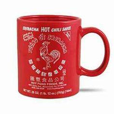 http://www.thinkgeek.com/product/1487/ I love sriracha sauce aka rooster sauce :-)